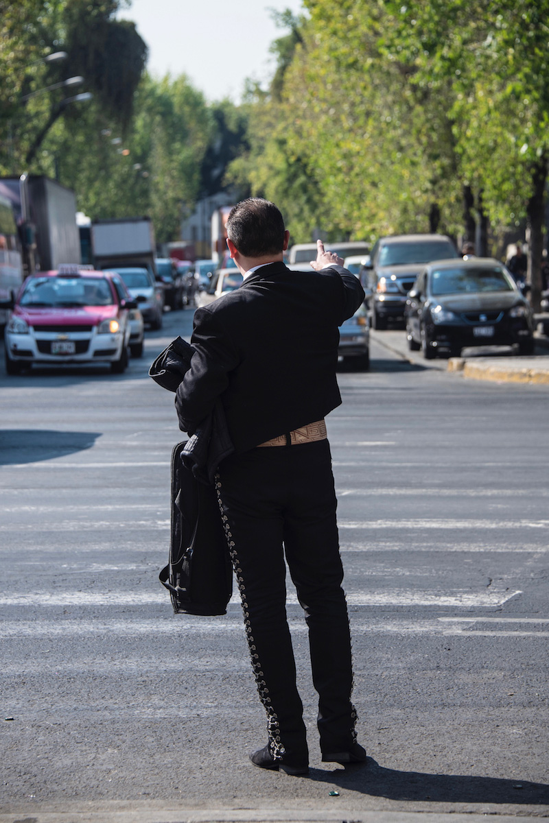 Mariachi musician in Mexico City