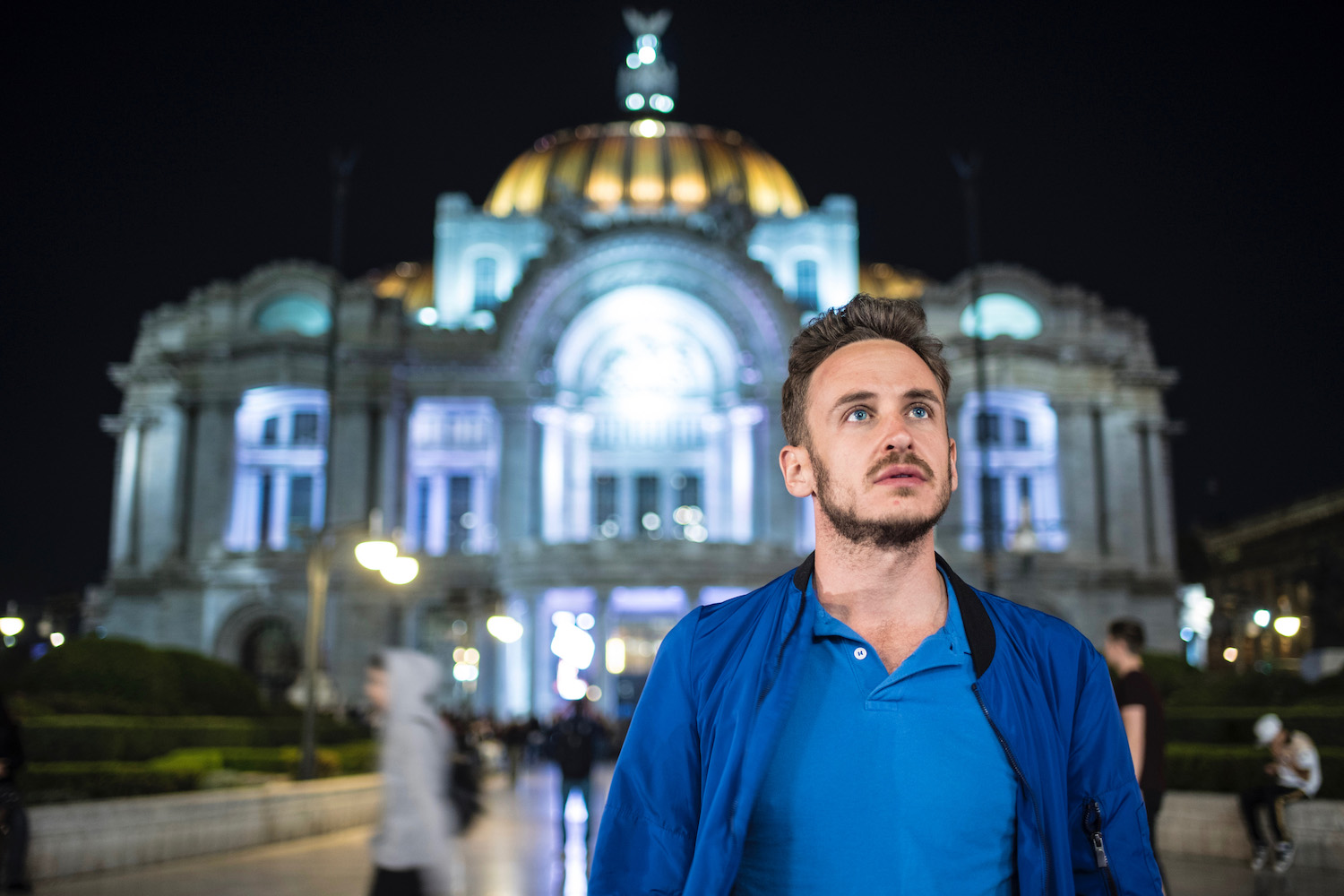 Robert Schrader in Mexico City