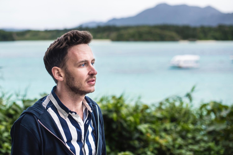 Robert Schrader in Ishigaki, Okinawa