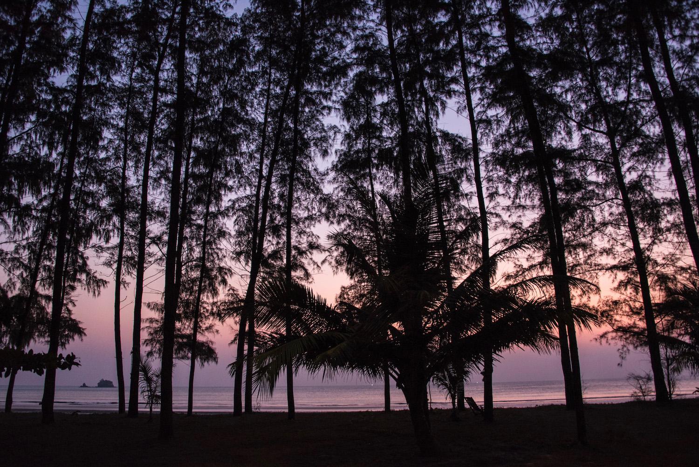 Koh Phayam Thailand sunset