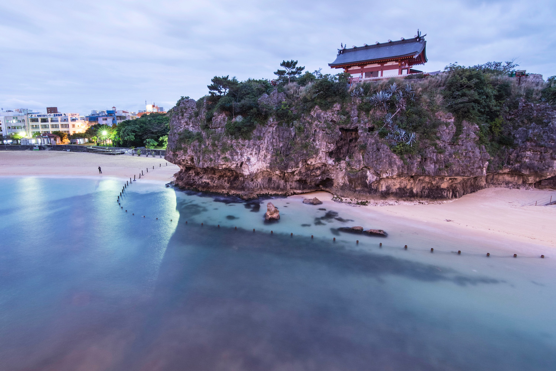 Naha Okinawa Naminoue Shrine