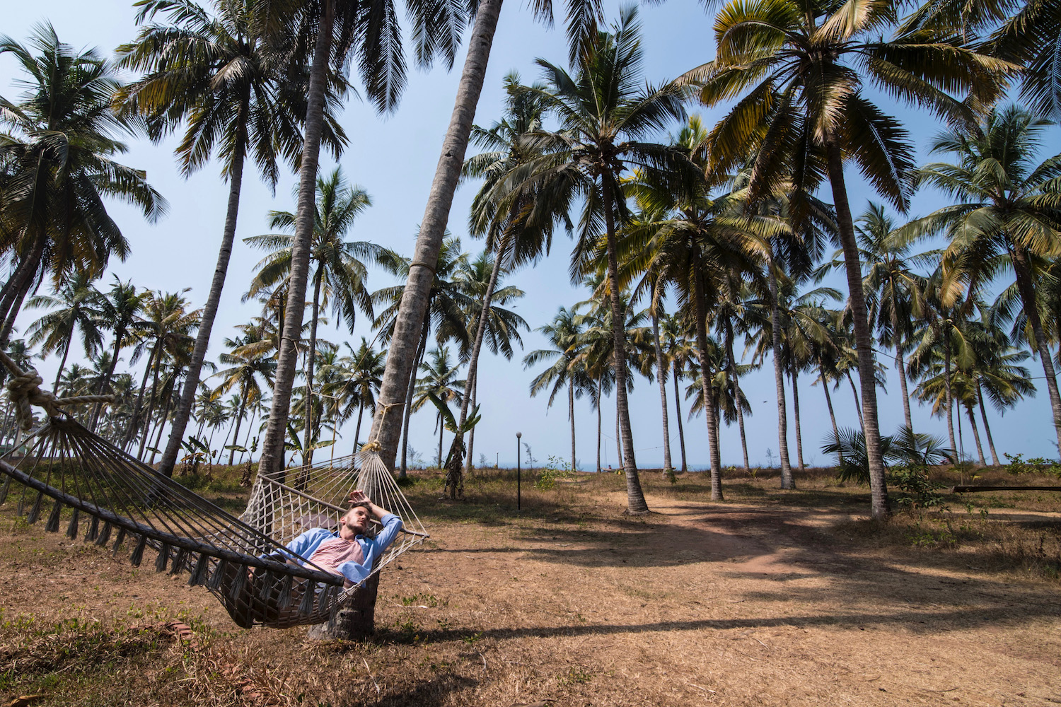 Relaxation in Kerala, India