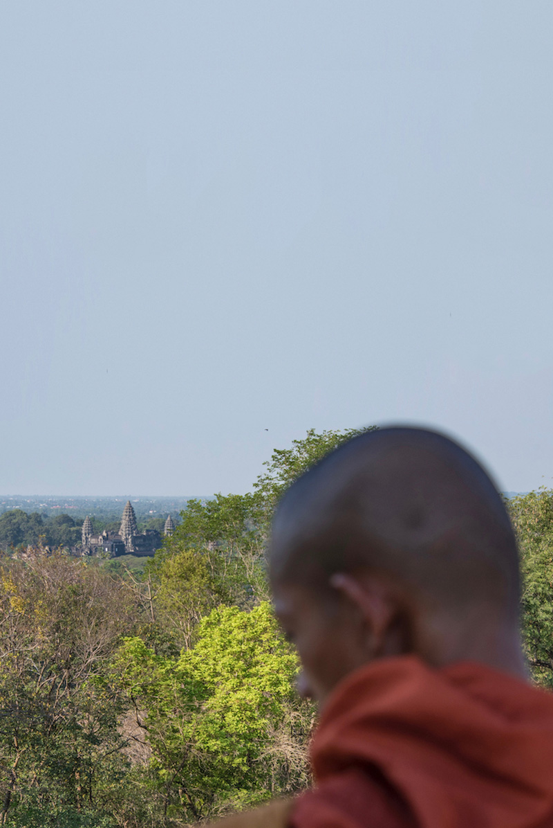 Monk in Siem Reap, Cambodia