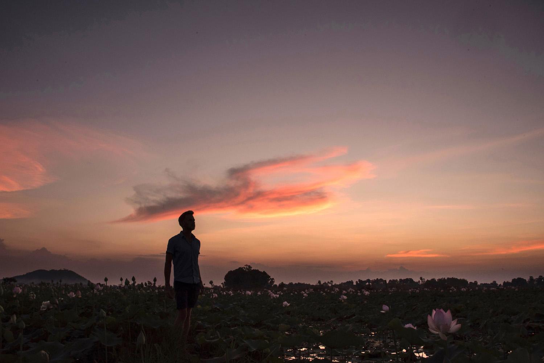 Robert Schrader in Siem Reap, Cambodia