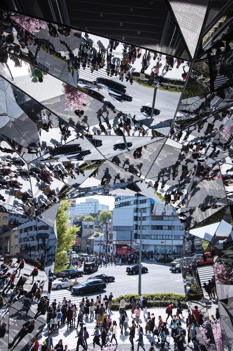 Omote-sando in Tokyo, Japan Tokyo Culture