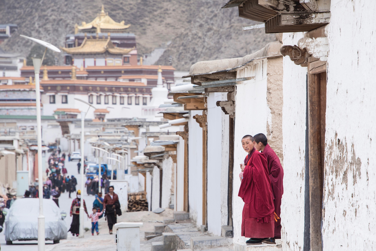Labrang Monastery in Gansu, China