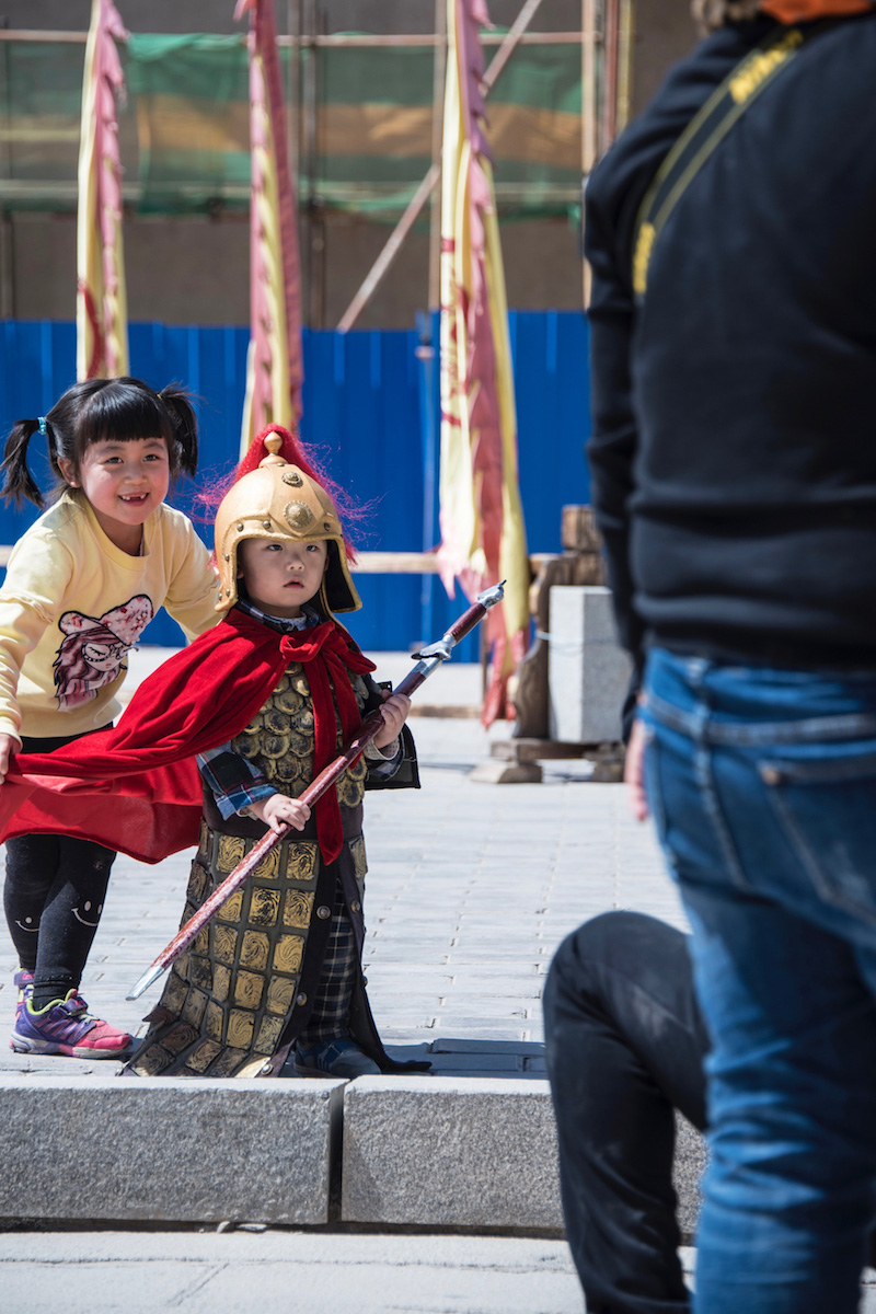Cosplay in Gansu, China