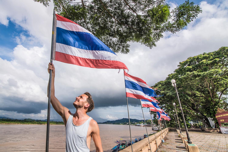 Robert Schrader in Thailand