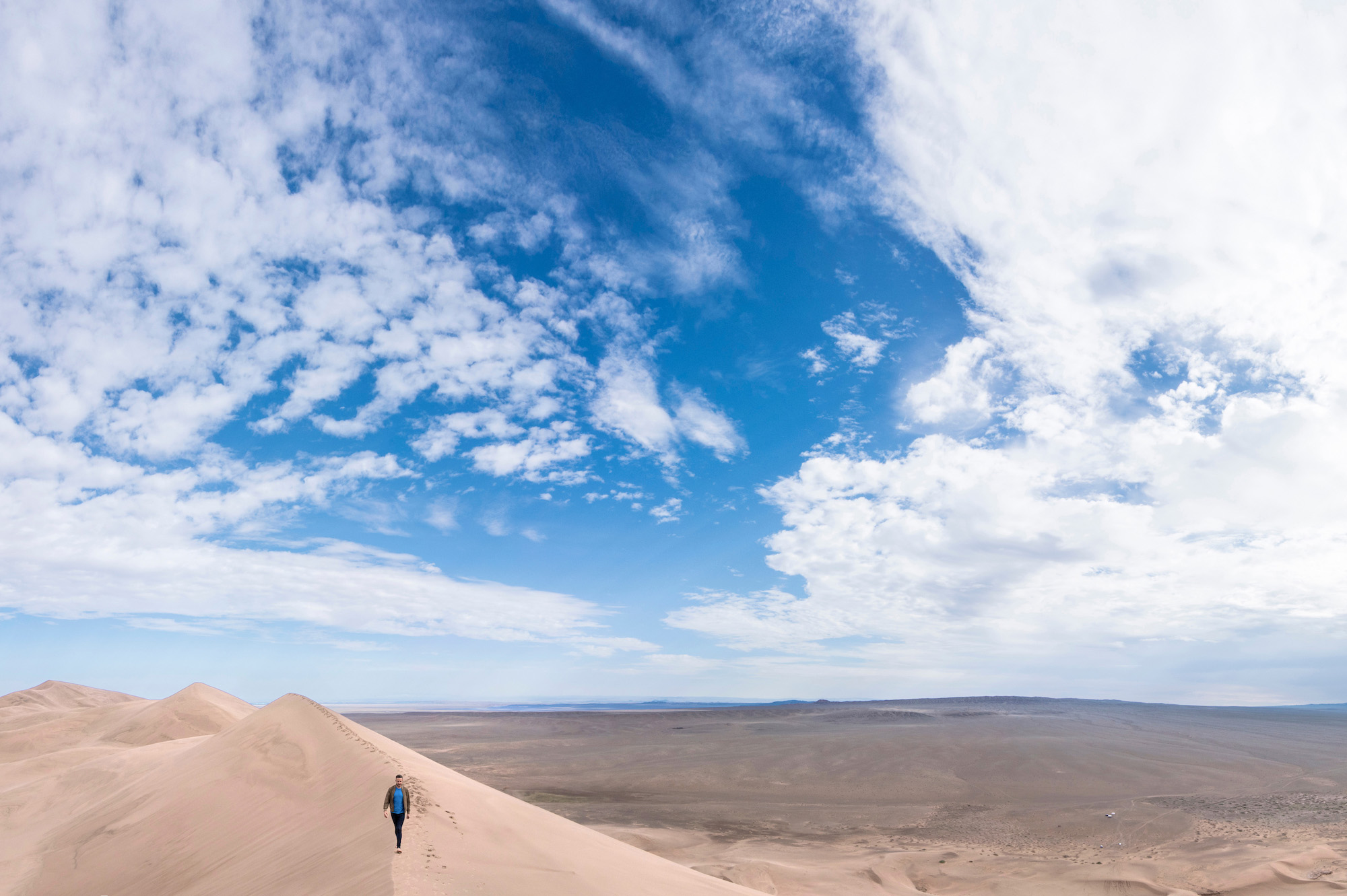 Sand Dunes in Mongolia