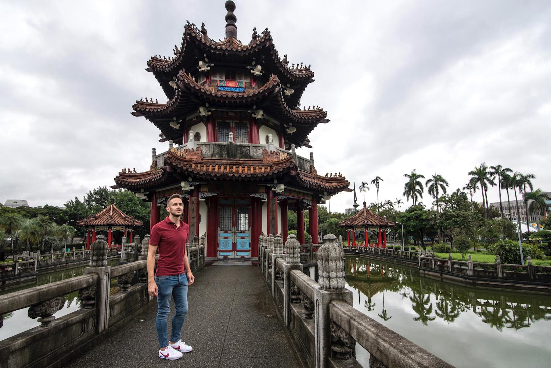Robert Schrader in Taipei, Taiwan