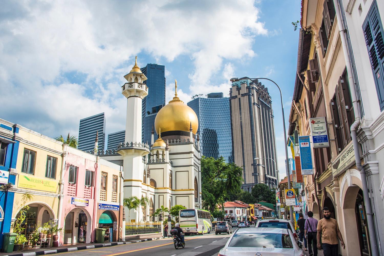 Arab Street in Singapore