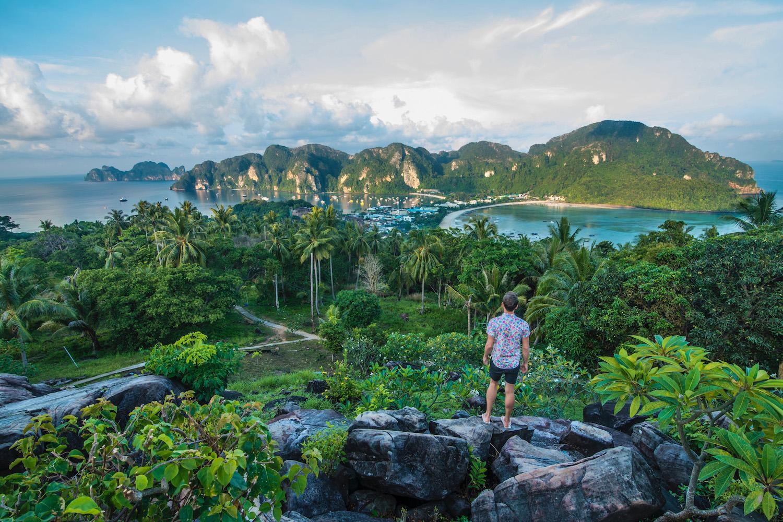 Robert Schrader in Krabi, Thailand