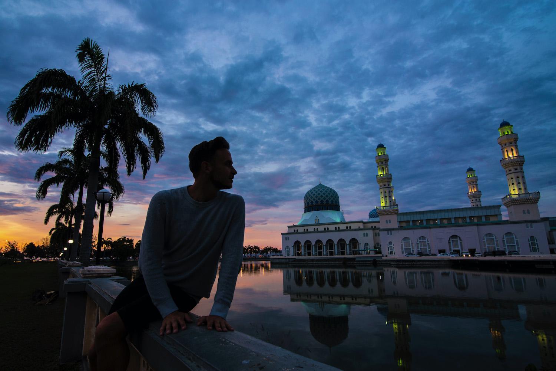 Robert Schrader in Borneo