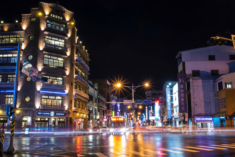Tainan Taiwan at night
