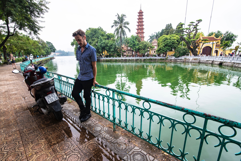 Robert Schrader in Hanoi