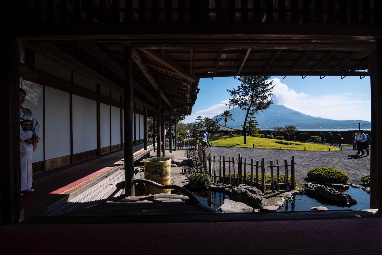 Robert Schrader in Kagoshima, Japan