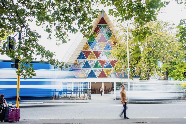 Robert Schrader in Christchurch, New Zealand