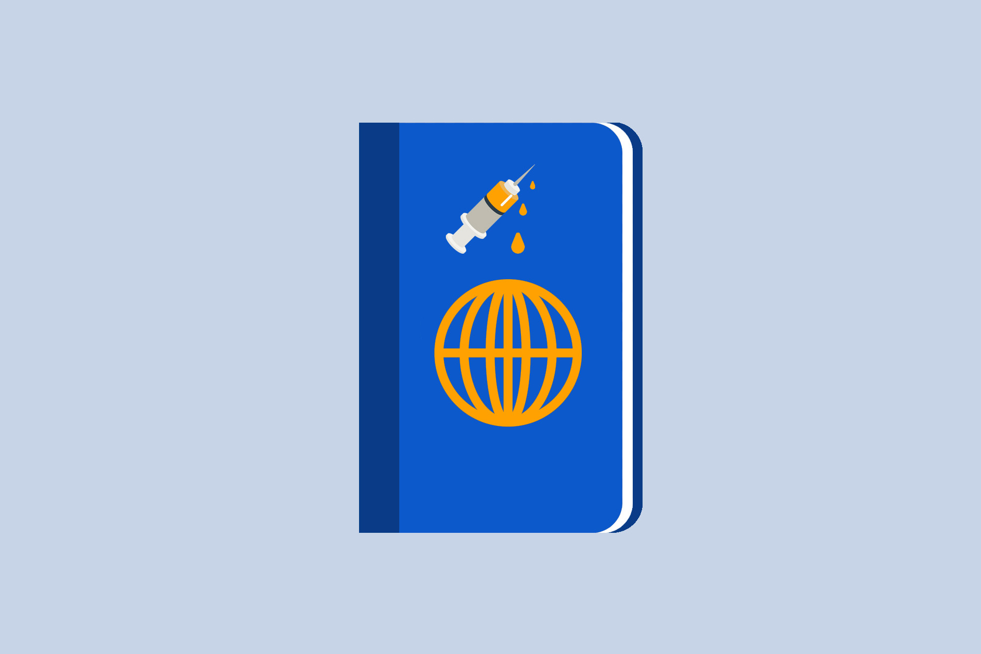 Picture of a vaccine passport
